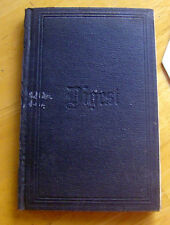 RARE antique 1878 book NATIONAL GRANGE parliamentary guide LAWS ENACTMENTS