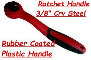 "RATCHET HANDLE 3/8"" INCH DRIVE COMPOSITE OFFSET RATCHET Crv STEEL FREE POST"