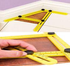 Angle Ruler Easy Amenitee Multi-Angle Measuring Ruler Tool Template Carpenter
