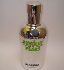ABSOLUT VODKA PEARS COCKTAIL SHAKER SKIN LIMITED EDITION COLLECTABLE SWEDEN 70ml