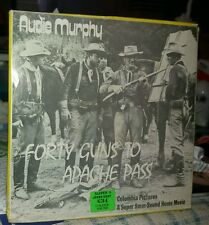 VINTAGE*VERY*RARE*SUPER*8*MM*SOUND*MOVIE*AUDIE*MURPHY*FORTY*GUNS*TO*APACHE*PASS*