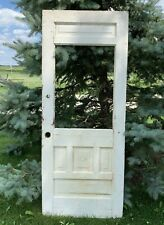 Antique Vintage Victorian Wood Wooden Panel Door