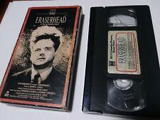 Eraserhead (VHS, 1977) David Lynch RCA columbia