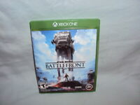 Star Wars: Battlefront (Microsoft Xbox One-2015) Excellent Condition! Not Tested