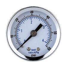Ts-Z51 0-60Psi Pressure Gauge 40Mm 1/8 Inch Npt Mini Pressure Gauge Air Com T7T4