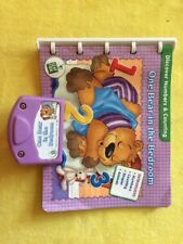 LeapFrog Baby Little Touch ONE BEAR IN THE BEDROOM book and cartridge