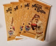 (5) HOBBY Pack Lot 2018 Topps Allen & Ginter Baseball Acuna? Auto? Relic? Rip?
