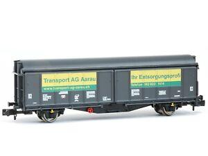 Fleischmann 837305 Tow Truck Wall Slider Ag Aarau Scale N 1/160