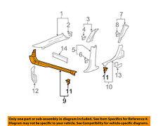 Pontiac GM OEM 06-08 Grand Prix Interior-Carpet Retainer Left 15258277