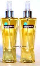 2 New Bath & Body Works Signature Vanillas LEMON Fragrance Body Mists 8 oz