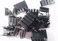 10 x TO220 Kühlkörper ohne Stift 18,7x13x12,8mm RthK: 25 K/W #2K08