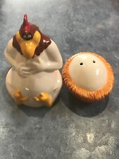 Looney Tunes Foghorn Leghorn Salt And Pepper Shakers Warner Bros Egg Collectible
