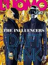 L'UOMO VOGUE ITALIA 2013 Daft Punk CLEMENT METAYER Mia Goth ROBERT LONGO @NEW@