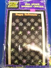 Spider Halloween Carnival Party Foil Doorway Curtain