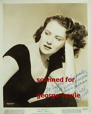 RUTH WARRICK - 8X10 - VTG - INSCRIBED - 1946 - CITIZEN KANE - ALL MY CHILDREN