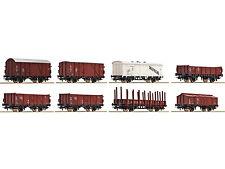 Roco 44002 Güterwagenset DB Spur H0