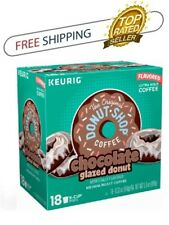 The Original Donut Shop Chocolate Glazed Donut Keurig K-Cups 18 Count Coffee