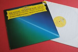 427496-1 Brahms Symphonie No.3 Tragic Overture BPO Karajan DG Digital 1st