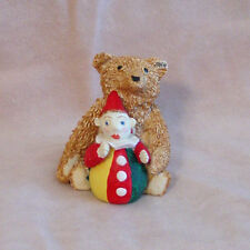 Steiff - Baerle Teddy and Roly Poly Clown Figurine - New