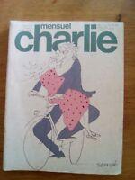 MENSUEL CHARLIE N°104 - 1977 CABU SEMPE HUGOT PEANUTS ANDREVON GOULD