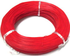 2 Meters Light Duty Red UL1007 26AWG Stranded Electrical Hookup Wire RR