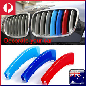 M-Tech Kidney Grill Grille 3 Color Cover Clips for BMW X5 E70 Year 2008-2013 NEW