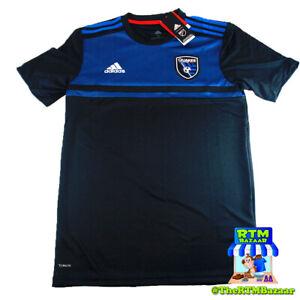Adidas San Jose Earthquakes Home Jersey MLS Major League Soccer