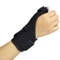 Wrist Thumb Hand Spica Splint Support Brace Stabiliser Arthritis Black
