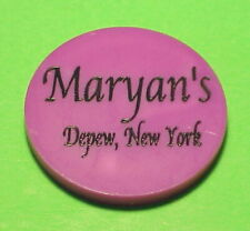 New ListingDepew New York Ny Maryan'S / Bottle Beer Trade Token