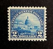 US Stamps, Scott #572 2 Dollar 1923 US Capitol 2019 PF cert GC XF/Superb 95 M/NH