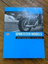 New Listing2002 Harley Davidson Sportster Xlh Models Shop Repair Service Manual Oem