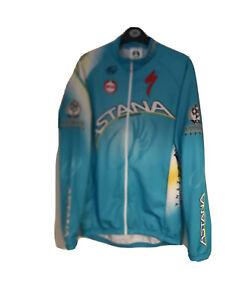 MOA Astana Cycling Long Sleeve Team Jersey 2013 Size 5 Medium