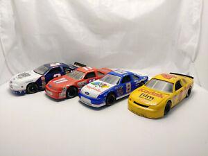 Nascar Stock Cars Jeff Burton, Sterling Marlin, Rusty Wallace Lot of 4 1:24