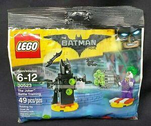 LEGO Minifigure 2017 Batman Movie Polybag 30523 The Joker Battle Training Sealed