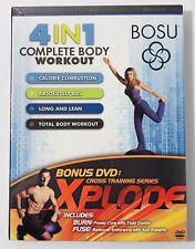 Bosu 4 In 1 Complete Body Workout w/ xplode bonus Dvd