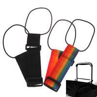 Add Tasche mit Reisegepäck Koffer verstellbarer Gürtel Farbe zufällig W0 sg