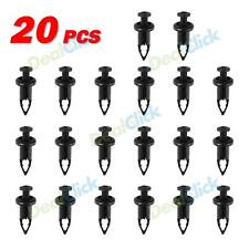 10x Nylon Fender Hood Bumper Cover Push-Type Retainer Clips for Toyota Camry
