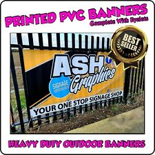 HEAVY DUTY PVC BANNERS - PRINTED OUTDOOR SIGN VINYL BANNERS, L@@K...