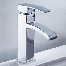 Grifo de cascada moderna lavabo monobloc monomando baño cromado grifos de latón