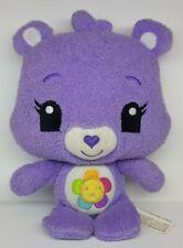 "Hasbro Care Bears PURPLE HARMONY BEAR 7"" Plush STUFFED ANIMAL Toy 2012"