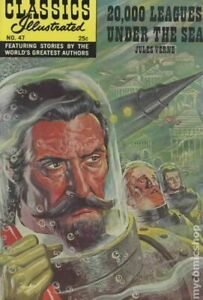 Classics Illustrated 047 20,000 Leagues Under the Sea #17 VG 1970 Stock Image