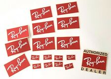 "Vintage ""AUTHORIZED Ray Ban DEALER"" stickers pack"