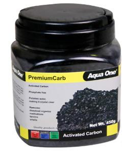 Aqua One PremiumCarb Premium Carb 250g 450g 950g Active Carbon Filter Media