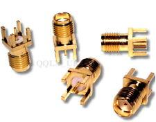 5pcs SMA female jack Panel Mount PCB Solder Connector - UK SELLER #621