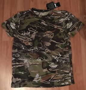 Under Armour Forest Camo Hunting Shirts-XL