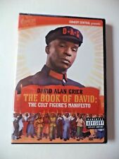 David Alan Grier - The Book of David: The Cult Figures Manifesto DVD 2003 NEW!