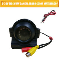New Waterproof 170°Wide Angle HD Car Side Reverse Camera/Rear View Parking RCA