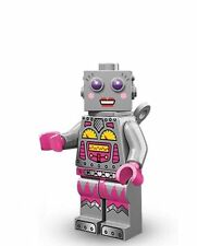 Lego mini figure series 11 71002 minifigure BN lady robot clockwork wind up