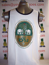 Chang Beer Singlet Vest Top White size M **UK STOCK** New