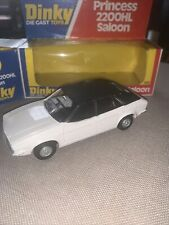 Dinky No. 123 Prince SS 2200 HL Saloon Boxed - White and Black Perfect Box Model